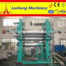 Máquina de calandragem de couro artificial