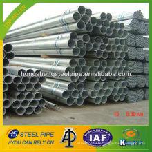 8 pouces sch 10 tuyaux / tuyaux en acier galvanisé à chaud fabriqués en Chine
