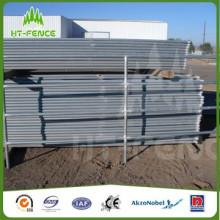 1,8 * 2,4 m galvanizado cerca de gado