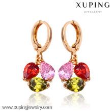 24503-Xuping Fashion online fancy drop earrings brass for party girls