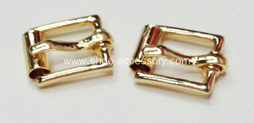 Handmade Pin Buckle for Shoes with Polish Face and Side