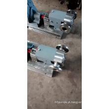 2018 venda quente !!! alta qualidade alta viscosidade cam rotor bomba xarope / bomba de mel