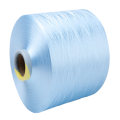 Nuevo hilo de poliéster preorientado reciclado teñido