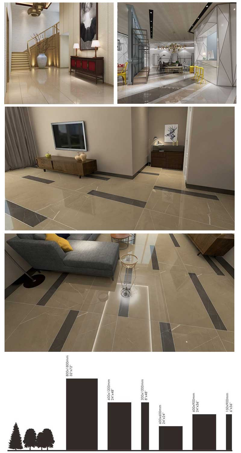 polished effect tiles