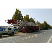 7500m hybrid workover rig for Gas Well
