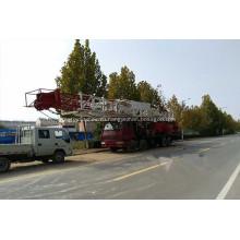 Гибридная установка для капитального ремонта газовой скважины 7500 м