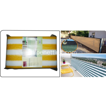 HDPE balcony protection net