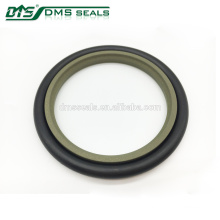 hydrocylinder rod seal ring PTFE+bronze valve seal