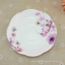 Los mejores productos de porcelana esmaltados venden al por mayor las placas blancas de la melamina