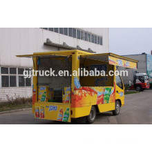 Dongfeng 4x2 Mobile Food Truck buffet voiture snack alimentaire camion