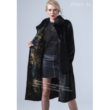 Luxurious Black Mink Coat