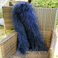 High Quality Mongolian Lamb Fur Fashion Scarf