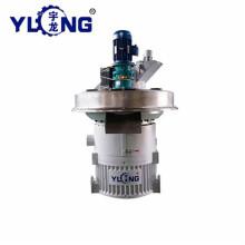 Yulong 1.5-2t / h 7ème machine à granulés de noir de carbone