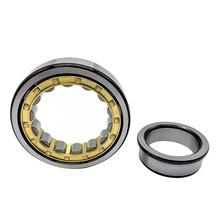 Factory direct sales of steel, copper and nylon cage cylindrical roller bearings