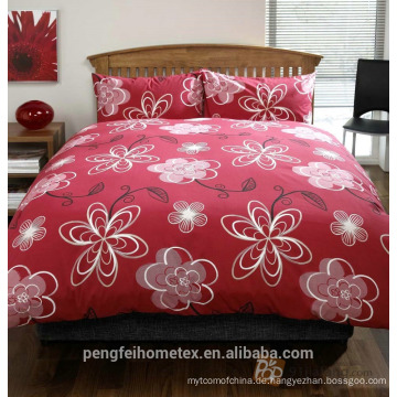 Gedrucktes Polyester-Mikrofaser-Gewebe für Bettwäsche mit großer Qualität