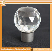 8/10/13/16/19/22/25/28mm Crystal Glass Decorative Crown Curtain Pole Accessories