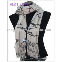 Зимняя мода вязать шарф