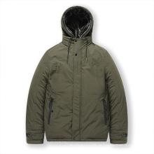 Wattierte Jacken in Übergröße für Herren mit Kapuze