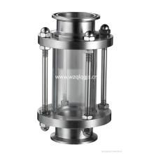 Санитарно-гигиеническое стекло из нержавеющей стали для цистерны