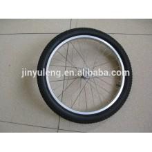 20 pulgadas rueda de goma sólida para el carro de jardín / carro del caballo / ver caso