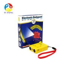 J-1003 Pet Ultraschall-Aggressiv Hund Repeller Abweisend Hundebellenkontrolle (blau / rot / gelb)