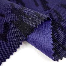 Nachhaltiger Rohstoff Polyester gestrickter Jacquard-Recyclingstoff für Jacken