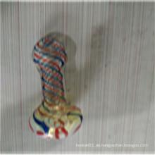 Hersteller Großhandel Regenbogen Löffel Rohre zum Rauchen (ES-HP-159)