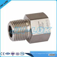 Dimensions des raccords de tuyau en acier galvanisé / raccords hydrauliques / raccords de tuyauterie en acier inoxydable