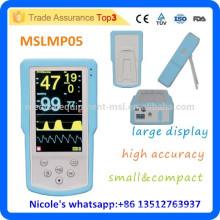 MSLMP05-i palma de mano ETCO2 & SPO2 más barato Monitor de Paciente