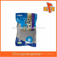Plastic food vacuum bag for dried seafood packaging with custom logo