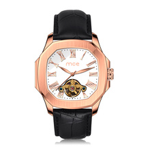 Venta al por mayor MCE Logo Tourbillon Automatic Mechanical Men Watch