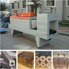 Máquina termoencogible para embalar briquetas
