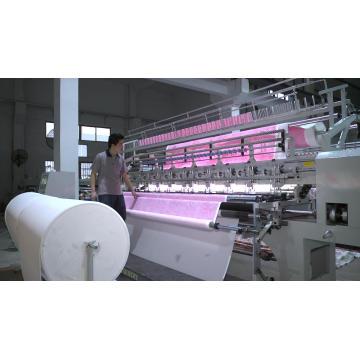 Changing Quilting Machine