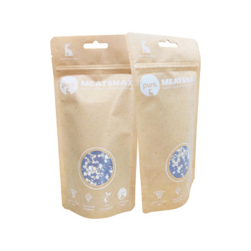 Cellophane Pet Treated Food Pouch Stand Up Pouch