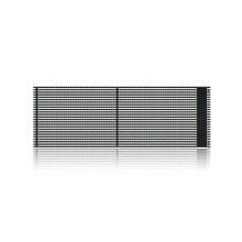 Outdoor Waterproof Curtain Wall surface LED Grille screen