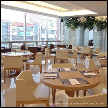 Conjunto de móveis de restaurante de cadeiras de mesa de jantar de hotel Wood (SP-CS105)