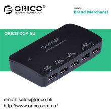 ORICO DCP-5U desktop 5 port usb carregador para Ipad Iphone com adaptador de energia