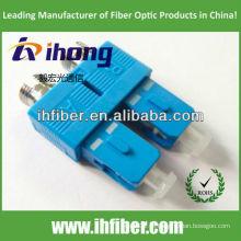 FC fêmea para SC macho adaptador de fibra uplex