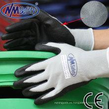 Nmsafety guantes de protección con espuma de nitrilo