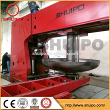 Hydraulic Dished End Configuring Machine/Good Quality Dish Head Forming Flanging Machine/dish head bumping machine