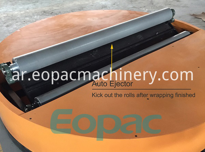 Roll stretch Film Wrapper machinery