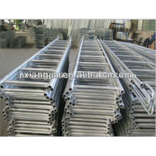 good quality painted trussed beam trestles