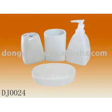 logo personnalisé en céramique accessoires de salle de bains ensembles, accessoires de salle de bains ensembles en céramique