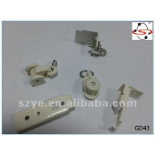 commonly used plastic curtain track runners for curtain track