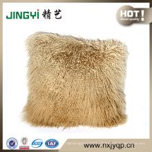 Tibetan Mongolian Lamb Fur Cushion Cover