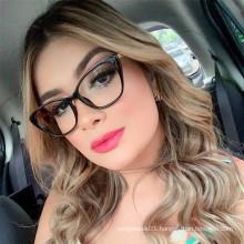 2019 Glasses Frame Teens Optical Eyewear Women Cat Eye Spectalces Students Fashion Prescription Glasses