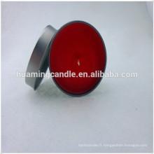 Mini bougies d'étain parfumées