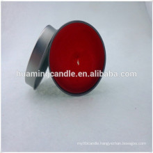 mini scented tin candles