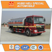 FOTON 4X2 12000L fuel tanker truck with oil pump hot sale in China