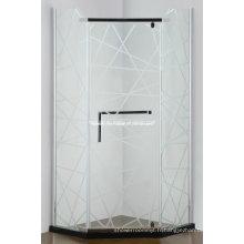 Boîtier de douche à charnière simple sans faille (AS-940N)